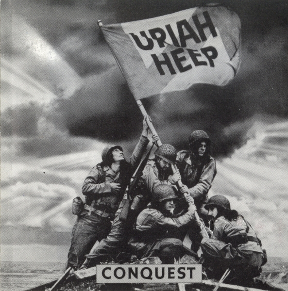 Uriah Heep Conquest Cover Art