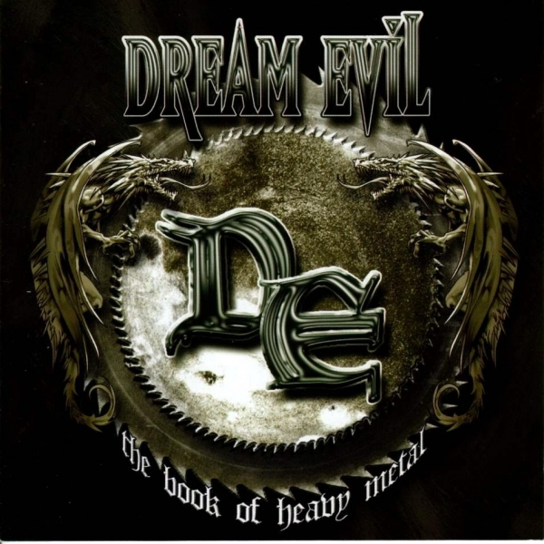 Dream Evil The Book of Heavy Metal cover art