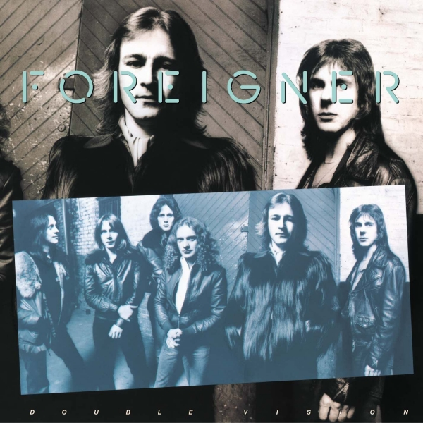Foreigner Double Vision cover art