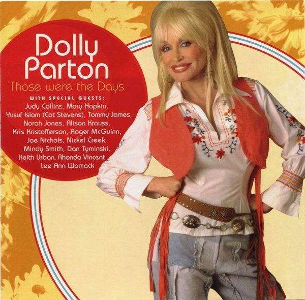 Dolly Parton Those Were the Days cover art