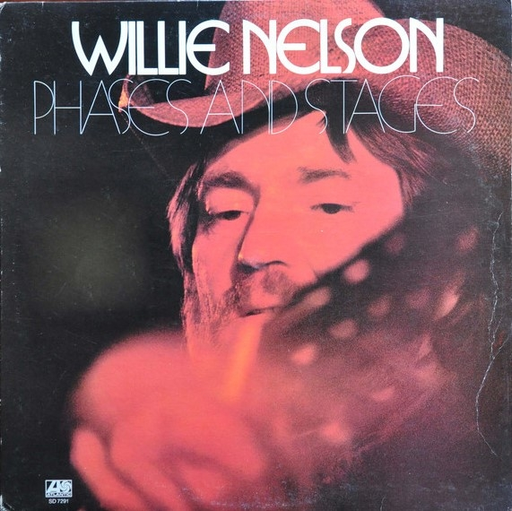 Willie Nelson Phases and Stages cover art