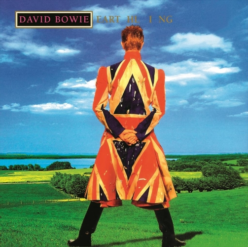 David Bowie Earthling cover art