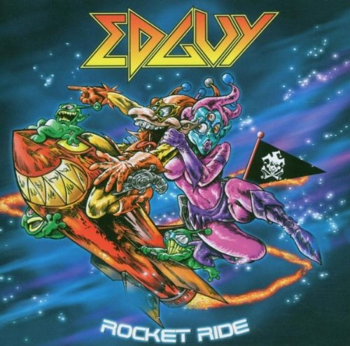 Edguy Rocket Ride Cover Art