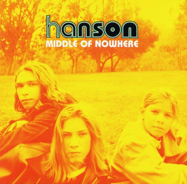Hanson Middle of Nowhere cover art