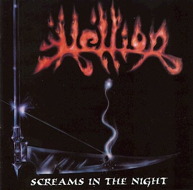 Hellion Screams in the Night cover art