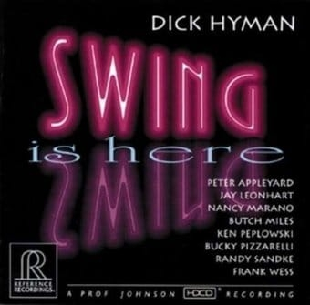 Dick Hyman Swing Is Here cover art