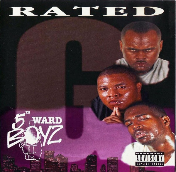 5th Ward Boyz Rated G cover art