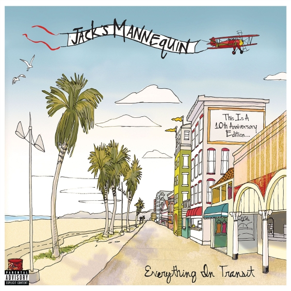 Jack's Mannequin Everything in Transit cover art