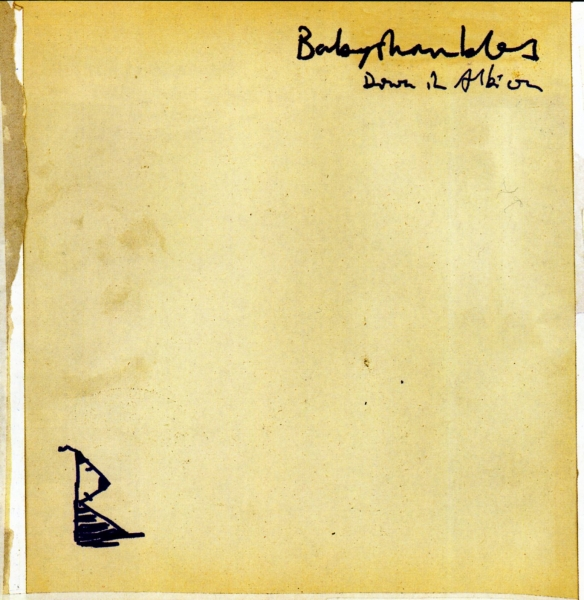 Babyshambles Down in Albion cover art