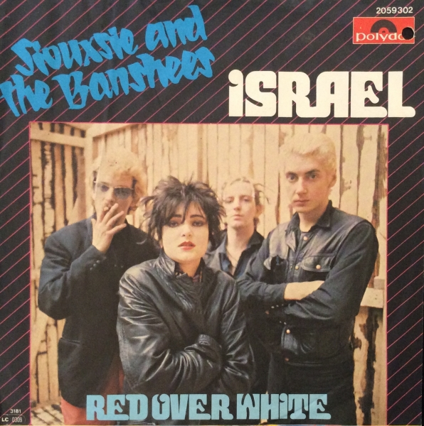 Siouxsie and the Banshees Israel Cover Art