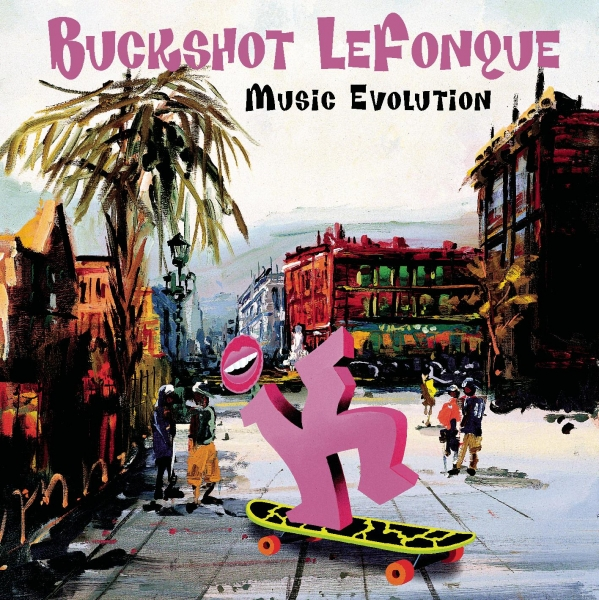 Buckshot LeFonque Music Evolution Cover Art