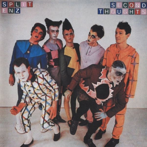 Split Enz Second Thoughts cover art