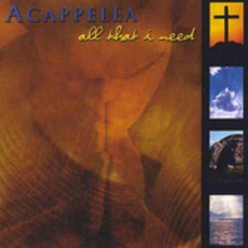 Acappella All That I Need cover art