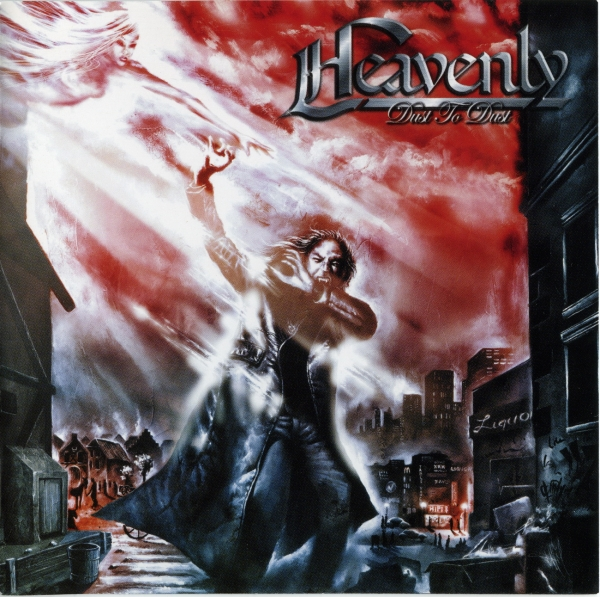 Heavenly Dust to Dust Cover Art