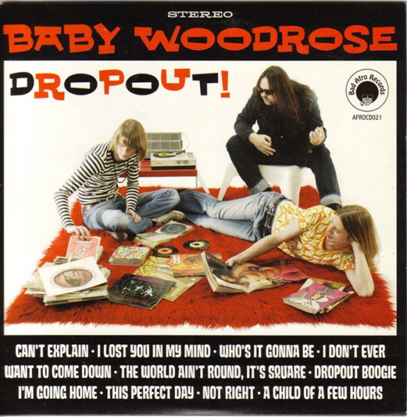 Baby Woodrose Dropout! Cover Art