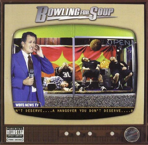 Bowling for Soup A Hangover You Don't Deserve Cover Art