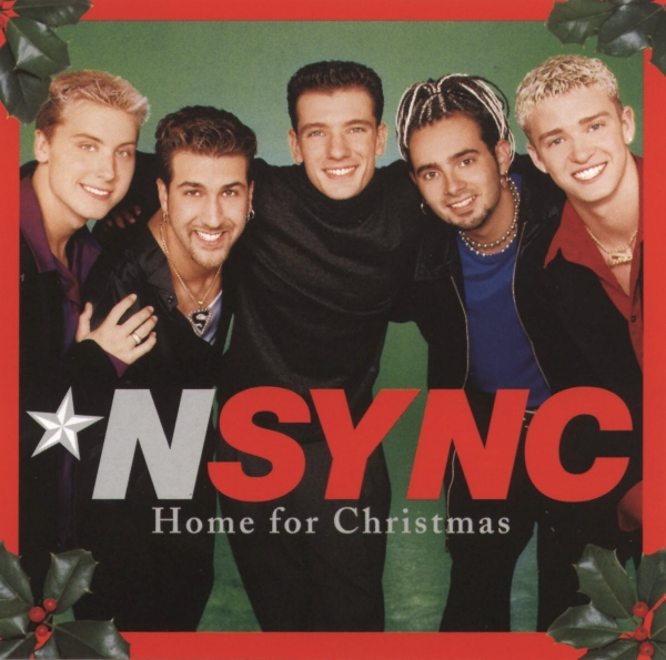 *NSYNC Home for Christmas cover art