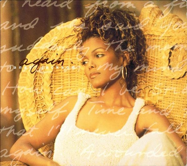 Janet Jackson Again Cover Art