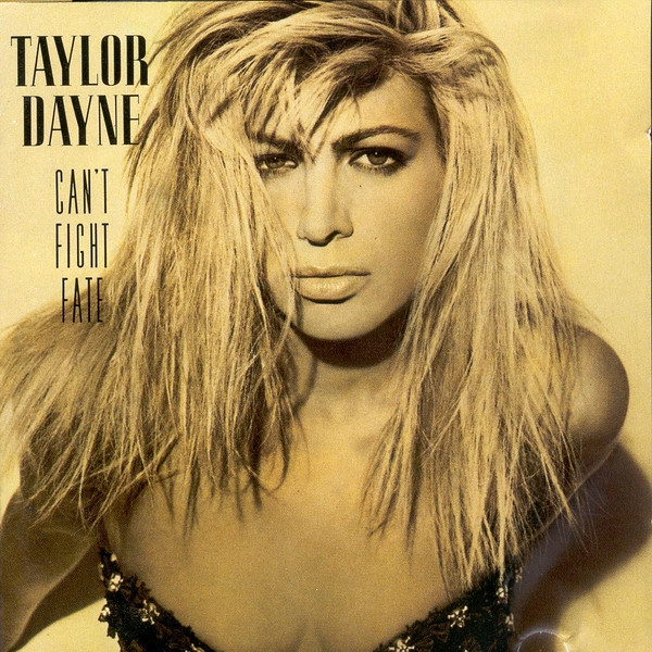 Taylor Dayne Can't Fight Fate cover art