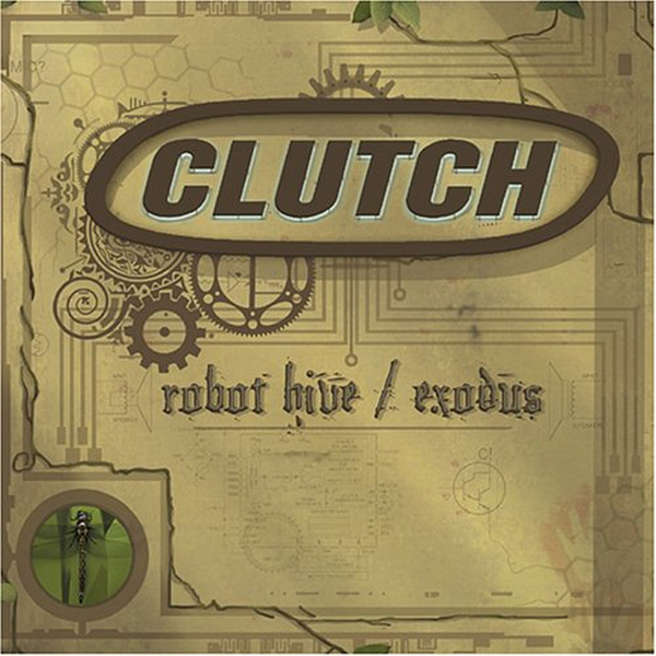 Clutch Robot Hive / Exodus cover art