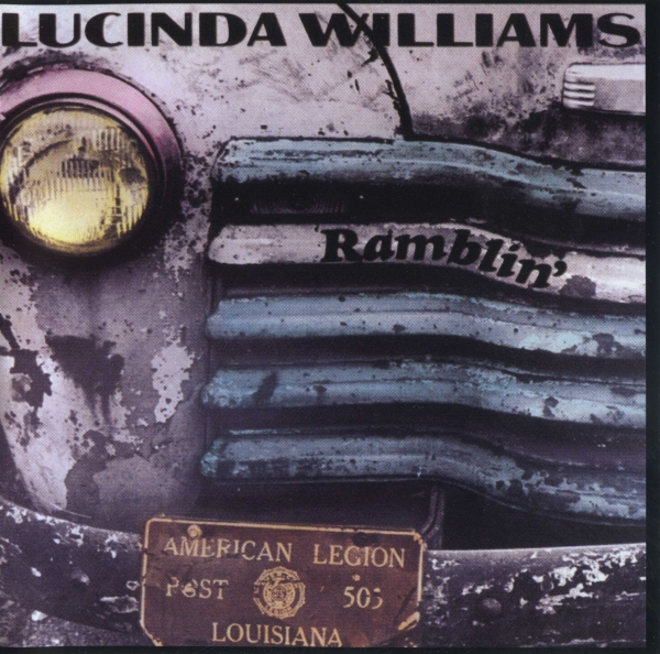 Lucinda Williams Ramblin' Cover Art