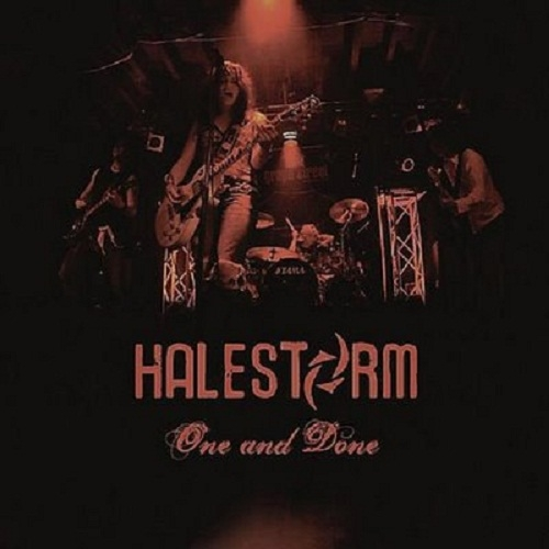 Halestorm One and Done Cover Art