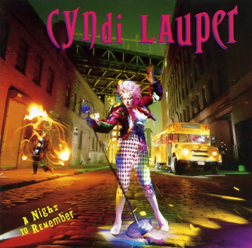 Cyndi Lauper A Night to Remember cover art
