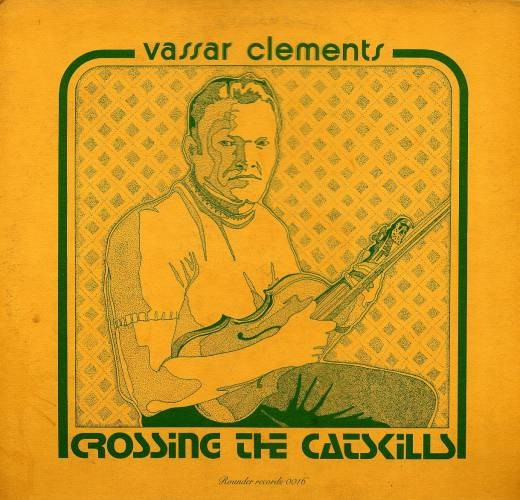 Vassar Clements Crossing the Catskills Cover Art