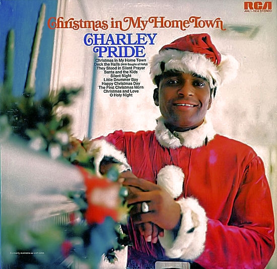 Charley Pride Christmas in My Home Town cover art