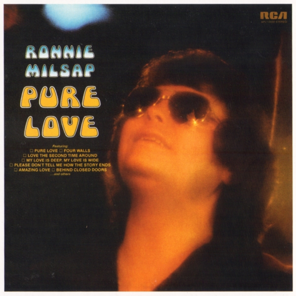 Ronnie Milsap Pure Love Cover Art