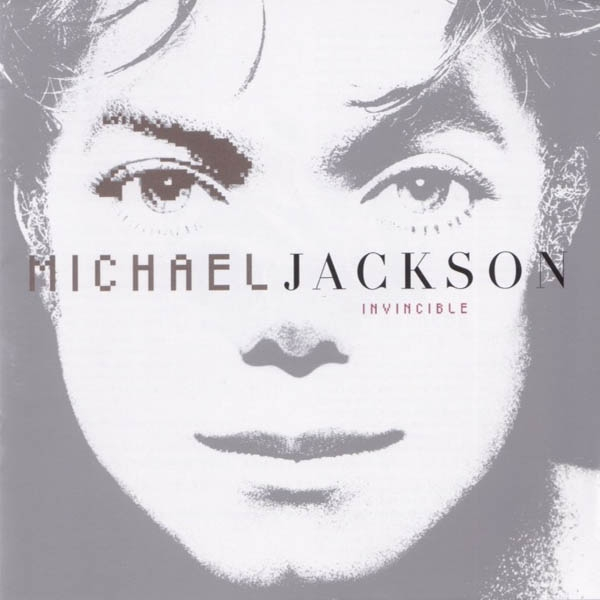 Michael Jackson Invincible cover art