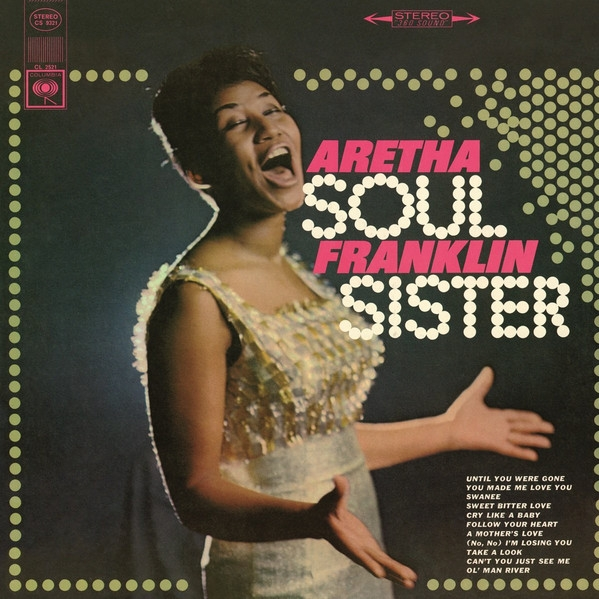 Aretha Franklin Soul Sister cover art