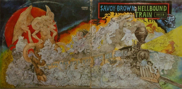 Savoy Brown Hellbound Train Cover Art