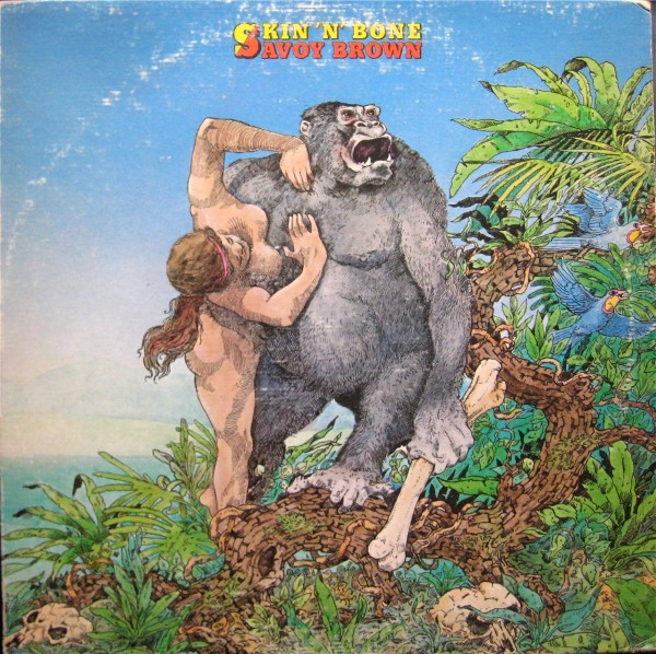 Savoy Brown Skin 'n' Bone cover art