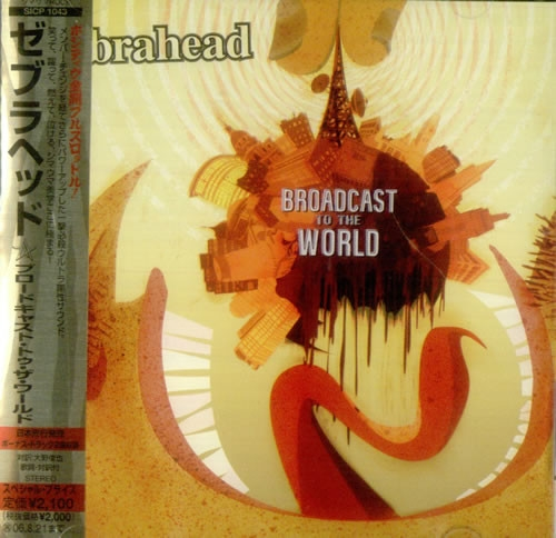 Zebrahead Broadcast to the World cover art