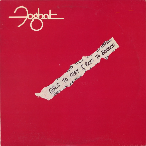 Foghat Girls To Chat & Boys To Bounce Cover Art