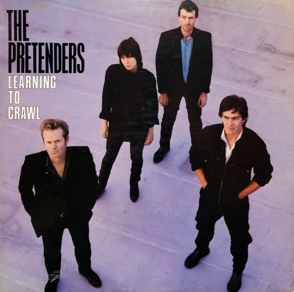 The Pretenders Learning to Crawl cover art