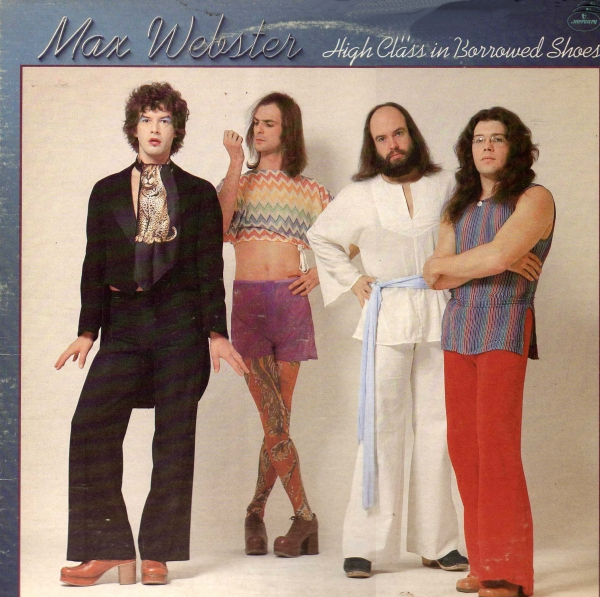 Max Webster High Class in Borrowed Shoes cover art