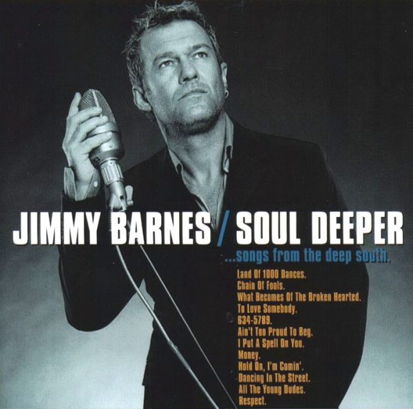 Jimmy Barnes Soul Deeper... Songs From the Deep South Cover Art