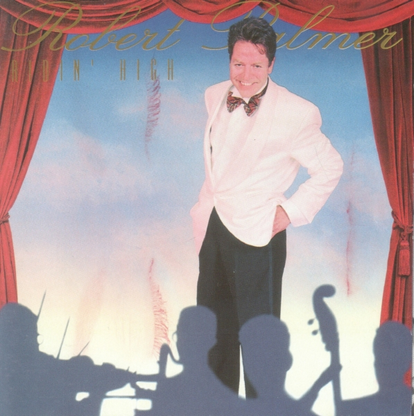 Robert Palmer Ridin' High cover art