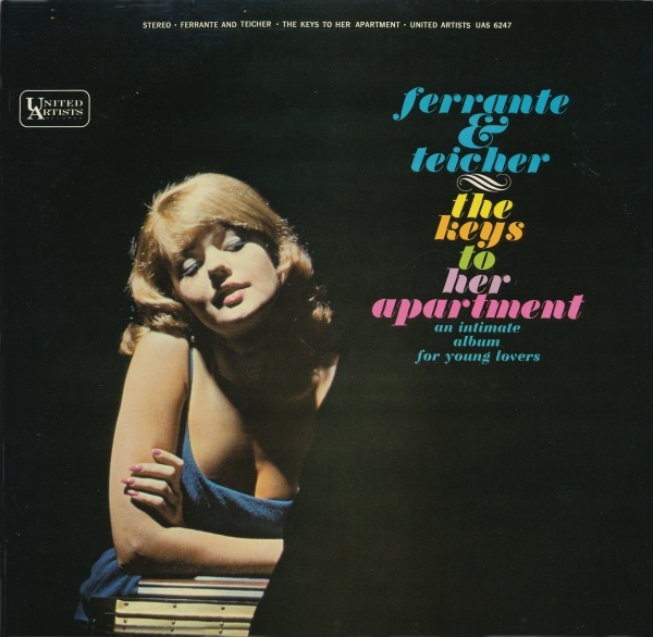 Ferrante and Teicher The Keys to Her Apartment cover art