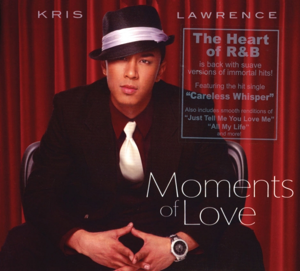 Kris Lawrence Moments of Love cover art