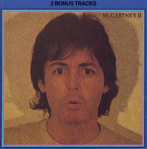 Paul McCartney McCartney II cover art