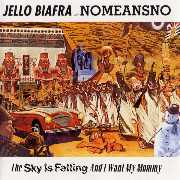 NoMeansNo The Sky Is Falling and I Want My Mommy cover art