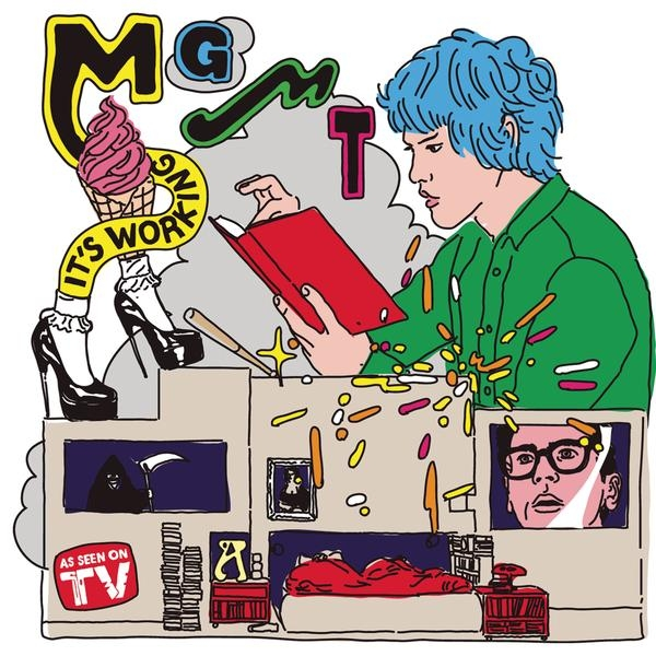 MGMT It's Working Cover Art