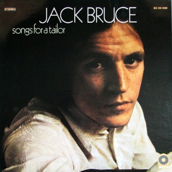 Jack Bruce Songs for a Tailor cover art