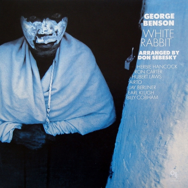 George Benson White Rabbit cover art
