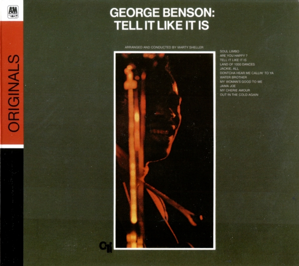 George Benson Tell It Like It Is cover art