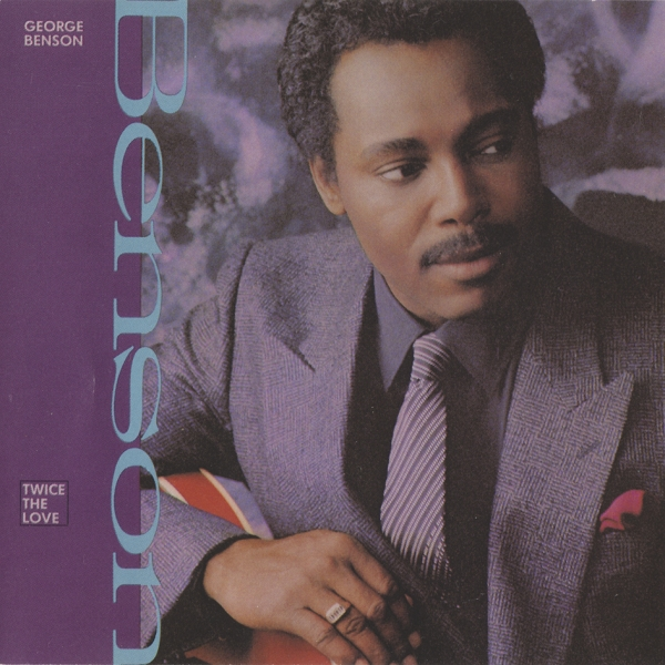 George Benson Twice the Love cover art