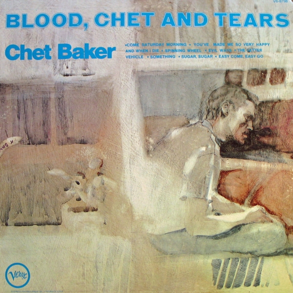 Chet Baker Blood, Chet and Tears cover art